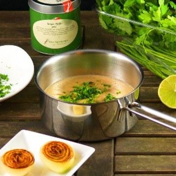 Rezept Püree von karamellisierten Zwiebeln