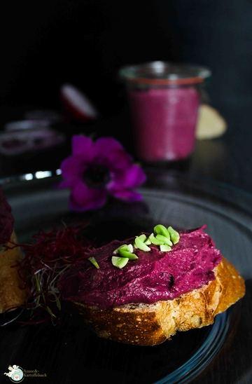 Rezept Purple Kaas - Kartoffelkäse