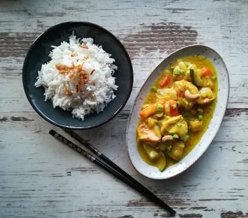 Rezept Puten-Curry