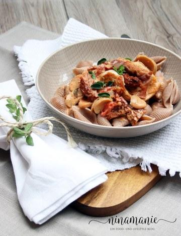 Rezept Puten-Involtini auf Pasta