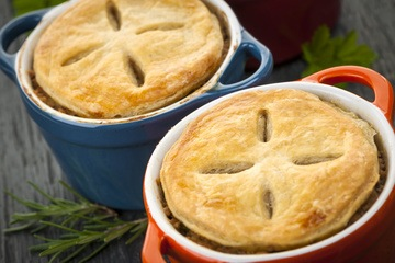 Rezept Puten Kartoffel Pot Pie