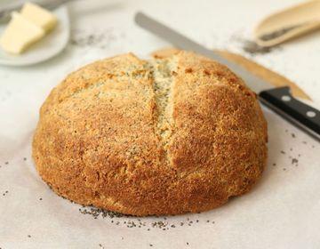 Rezept Quark Brot mit Chia Samen
