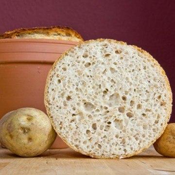 Rezept Quark-Kartoffel-Brot