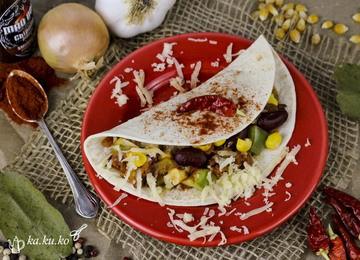 Rezept Quesadillas mit Gemüse-Avocado Füllung
