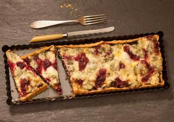 Rezept Quiche mit Grünkohl und Cranberries