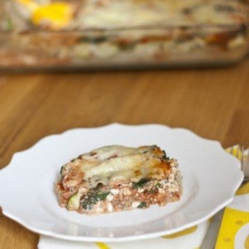 Rezept Quinoa Lasagna
