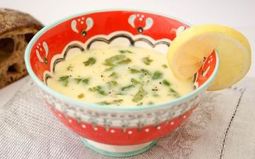Rezept Quinoa-Suppe mit Zitrone