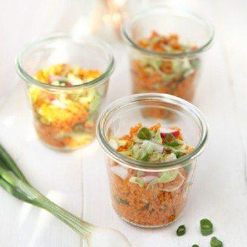 Rezept Radieschen Couscous Salat