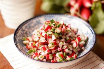Rezept Radieschen-Salat mit Petersilie