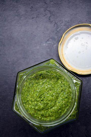 Rezept Radieschenblätter-Pesto