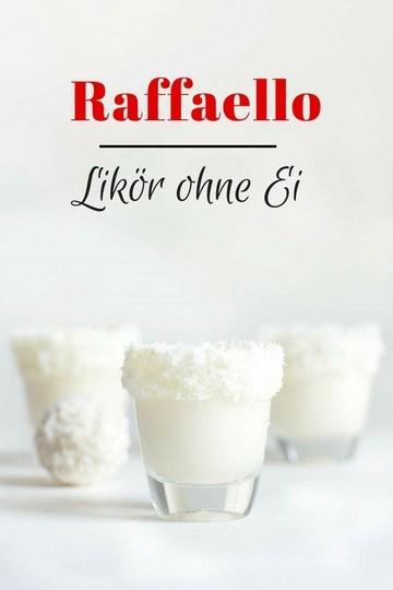 Rezept RAFFAELLO LIKÖR OHNE EI