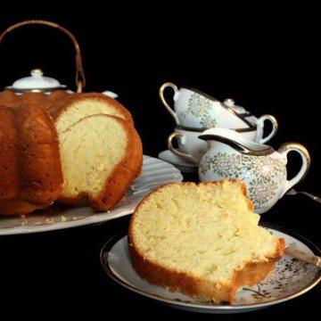 Rezept Rahmkuchen mit Zitronengeschmack