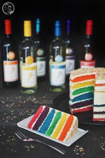 Rezept Rainbowcake