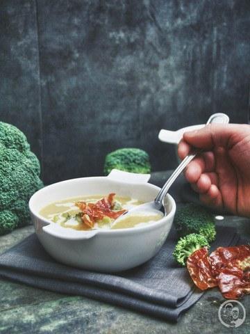 Rezept Rauchige Broccolicremesuppe