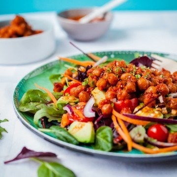Rezept Rauchiger Ponderosa BBQ-Salat