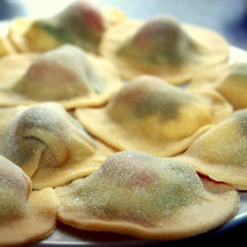 Rezept Ravioli Caprese mit Pilzen