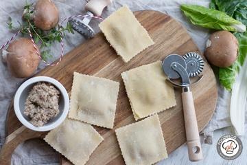 Rezept Ravioli mit Pilzfüllung
