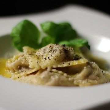 Rezept Ravioli mit Seranoschinken