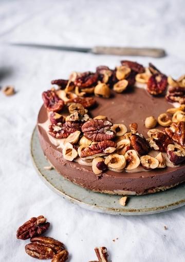 Rezept Raw Chocolate Cake - vegan und gesund