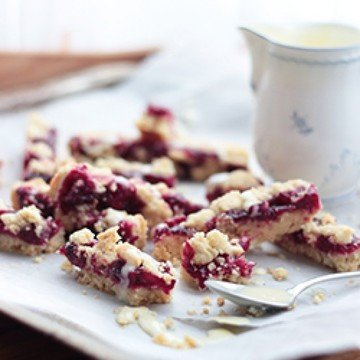 Rezept Red Berry Crumble Bars