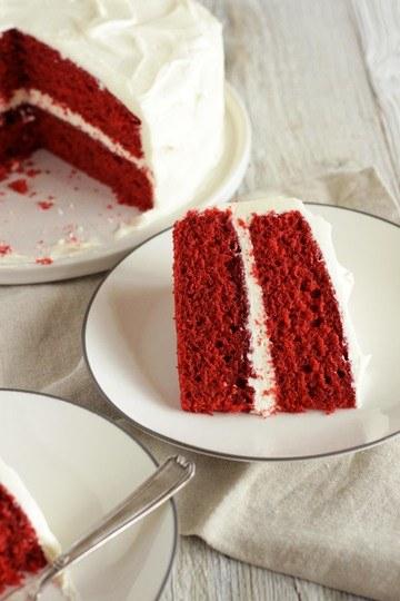 Rezept Red Velvet Cake mit Cream Cheese Frosting