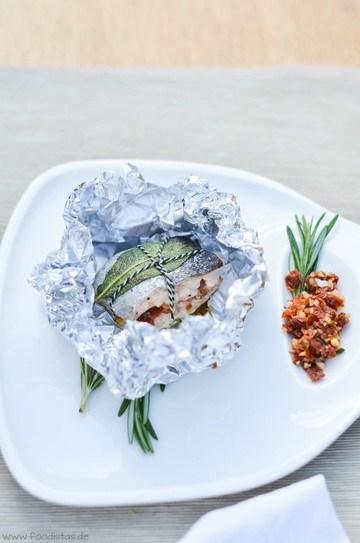 Rezept Regenbogenforellen Päckchen vom Grill