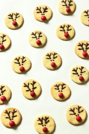 Rezept Rentier Kekse
