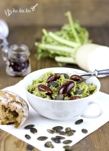Rezept Rettichsalat mit Käferbohnen