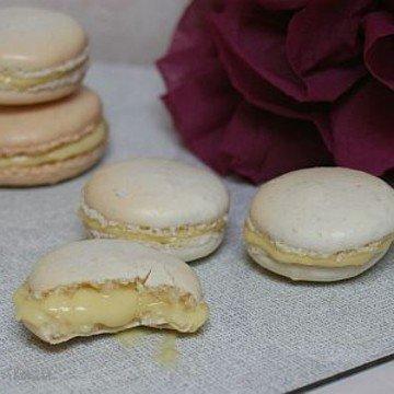 Rezept Rhabarber-Anis-Macarons