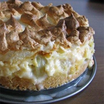 Rezept Rhabarber-Baiser-Kuchen
