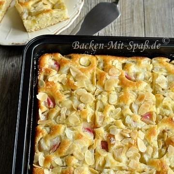 Rezept Rhabarber- Buttermilchkuchen