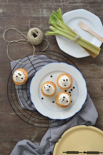 Rezept Rhabarber Cupcakes