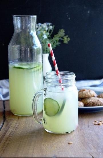 Rezept Rhabarber - Ingwer - Limonade