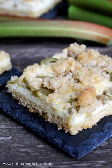 Rezept Rhabarber-Käsekuchen vom Blech