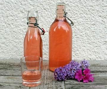 Rezept Rhabarber-Likör mit Vanille