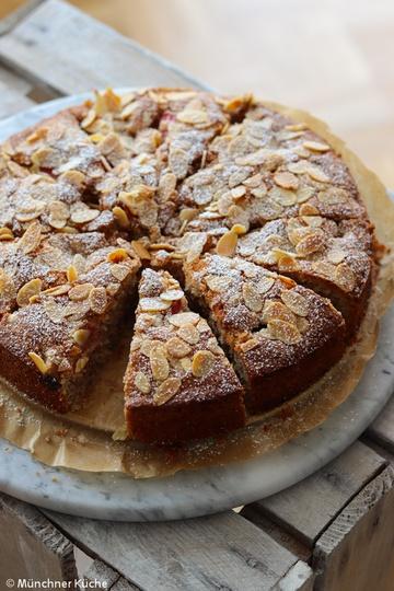 Rezept Rhabarber-Mandel-Kuchen