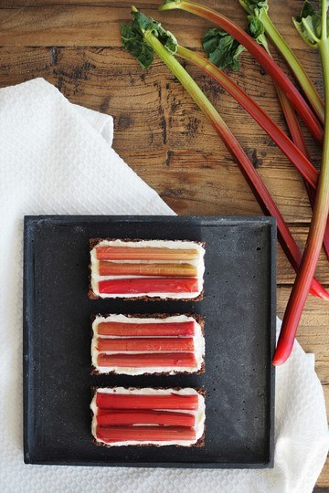 Rezept Rhabarber-Tartelettes: Glücklichmacher aus dem Kühlschrank