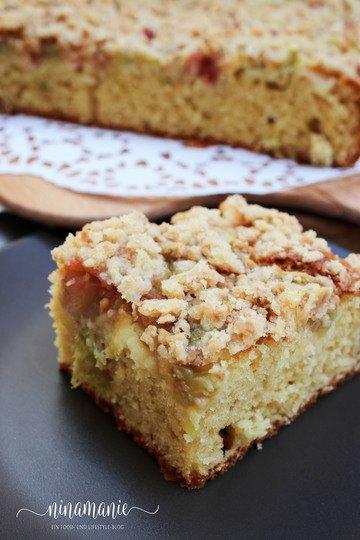 Rezept Rhabarberkuchen mit Streusel