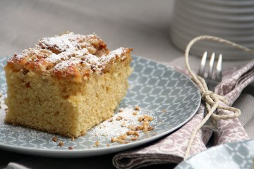 Rezept Rhabarberkuchen vom Blech