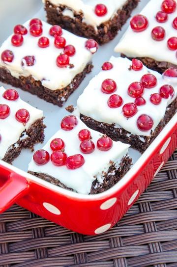 Rezept Ribisel-Marscarpone Brownies