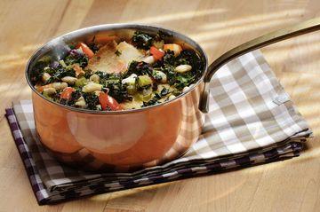 Rezept Ribollita (Grünkohl Eintopf toskanische Art)