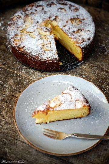 Rezept Ricotta-Apfelkuchen
