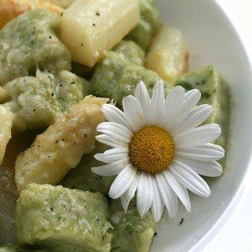 Rezept Ricotta-Gnocchi mit gebratenem Spargel