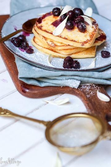 Rezept Ricotta-Pancakes