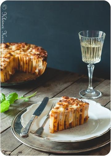 Rezept Rigatoni-Kuchen mit Bolognese