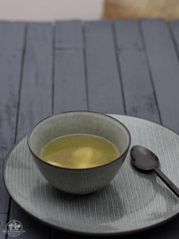 Rezept Rinderboullion mit Tortellini