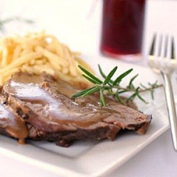 Rezept Rinderbraten in Rotwein