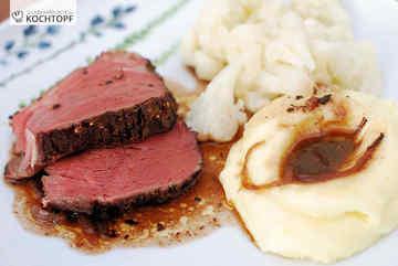 Rezept Rinderfilet aus dem Ofen