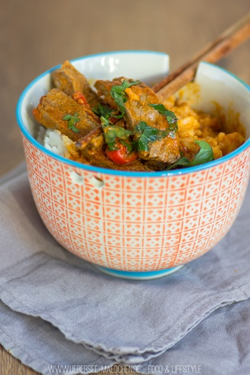 Rezept Rindfleisch-Curry mit Zimt