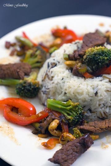 Rezept Rindfleisch nach Szechuan Art